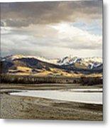 Peaceful Day In Helena Montana Metal Print