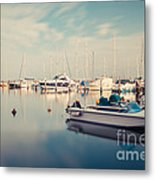 Peaceful Harbour Metal Print