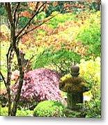 Peaceful Japanese Garden Metal Print