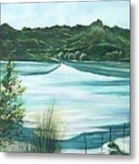Peaceful Lake Metal Print