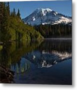 Peaceful Mountain Serenity Metal Print