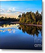 Peaceful Payette River Metal Print