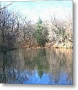 Peaceful Retreat 2 Metal Print