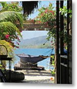 Peaceful Roatan Metal Print