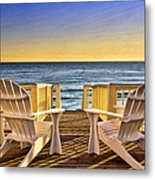 Peaceful Seclusion Metal Print