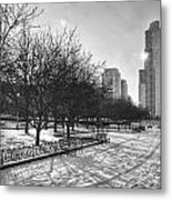 Peaceful Side Of Chicago Metal Print