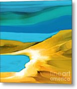 Peaceful Solitude Metal Print by Hilda Lechuga