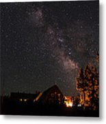 Peaceful Starry Night Metal Print