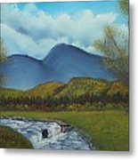 Peaceful Valley Metal Print