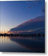 Peaceful Yachts And Sailboats Metal Print