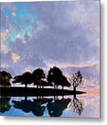 Peacefully Chaotic... Metal Print