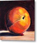 Peach 1 Metal Print