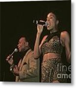 Peaches And Herb Metal Print