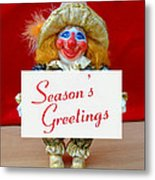 Peaches - Season's Greetings Metal Print