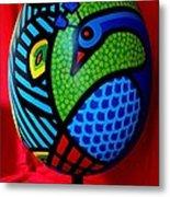 Peacock Egg II  Metal Print