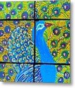 Peacock Ix Metal Print
