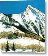 Peak Adventure Metal Print