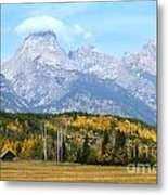 Peak Cloud Metal Print