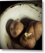 Pear Love Metal Print