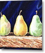 Pear Pear And A Pear Metal Print