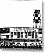 Pearl Harbor Shipyard Metal Print