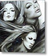 Pearl Passions Metal Print