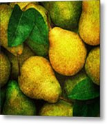Pears Metal Print