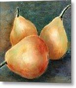 Pears Still Life Metal Print