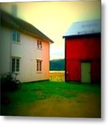 Coming Home To The Peasants' Place  Metal Print