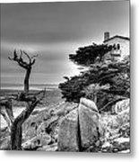 Pebble Beach 2 Metal Print