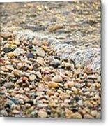 Pebble Beach Metal Print