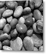 Pebbles Chesil Uk  Metal Print