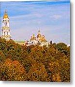 Pechersk Lavra Tower Bell Metal Print