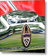 Peerless Radiator Emblem Metal Print