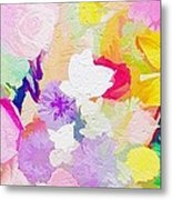 Pefect Birthday Flowers Metal Print