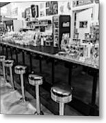 Peggy Sues Americana Route 66 Inspired Metal Print