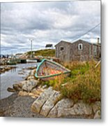 Peggy's Cove 12 Metal Print