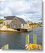 Peggy's Cove 6 Metal Print