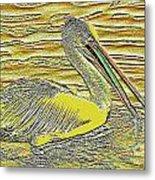 Pelican 1 Metal Print