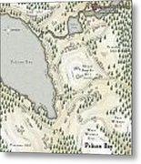 Pelican Bay Metal Print