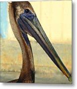 Pelican Bill Metal Print