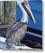 Pelican Blues Metal Print