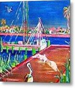 Pelican Landing Metal Print