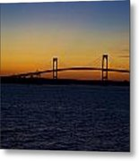 Pell Bridge Metal Print