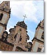 Pelourinho Church Metal Print
