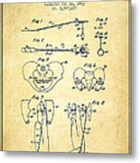 Pelvic Measuring Device Patent From 1963 - Vintage Metal Print