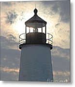 Pemaquid Lighthouse - The Tower  Metal Print