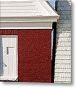 Pemaquid Point Bell House Metal Print