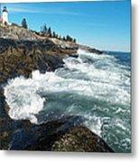 Pemaquid Point Lighthouse 1 Metal Print