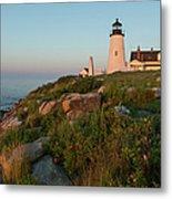 Pemaquid Point Maine Lighthouse Metal Print